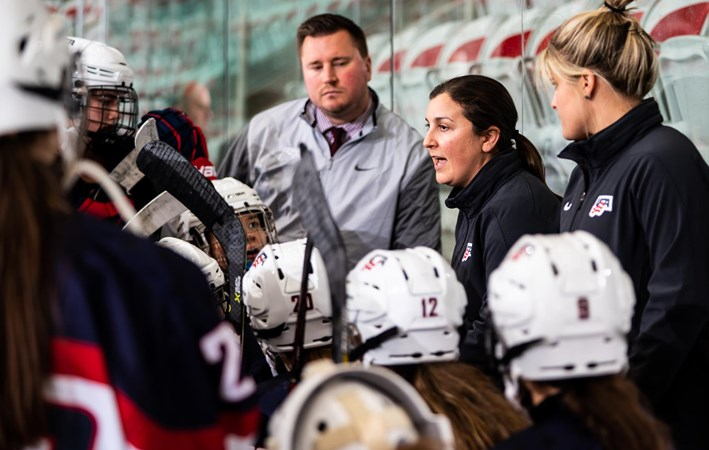 CROWELL NAMED U.S. UNDER-18 HEAD COACH FOR SECOND CONSECUTIVE YEAR - UMD Athletics